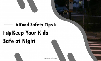 6 Road Safety Tips to Help Keep Your Kids Safe at Night