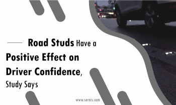 Road Studs Have a Positive Effect on Driver Confidence, Study Says
